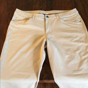 Lululemon ABC 36 waist pants